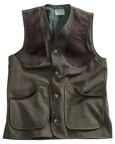 Hoggs of Fife Harewood Lambswool Tweed Shooting Vest