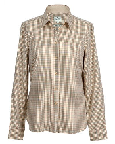 Hoggs of Fife Ladies Brook Cotton Shirt