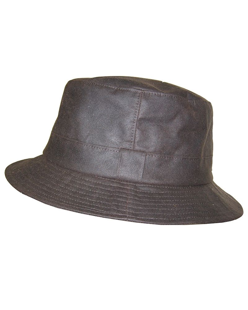 Hoggs of Fife Waxed Bush Hat