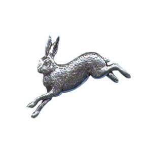 Pewter Pin - Hare