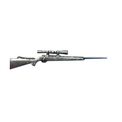 Pewter Pin - Hunting Rifle
