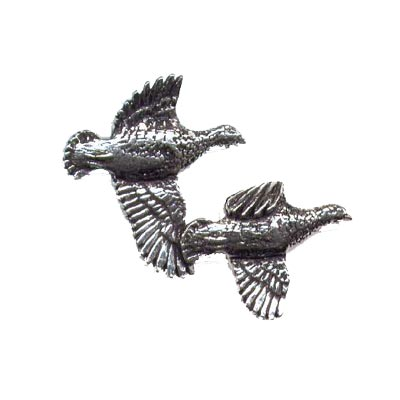 Pewter Pin - Partridge