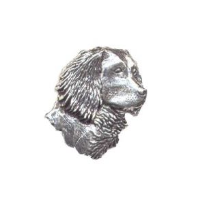 Pewter Pin - Spaniel