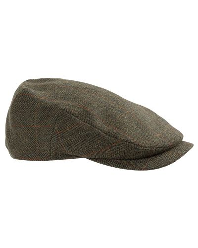 Hoggs of Fife Harewood Tweed Waterproof Cap
